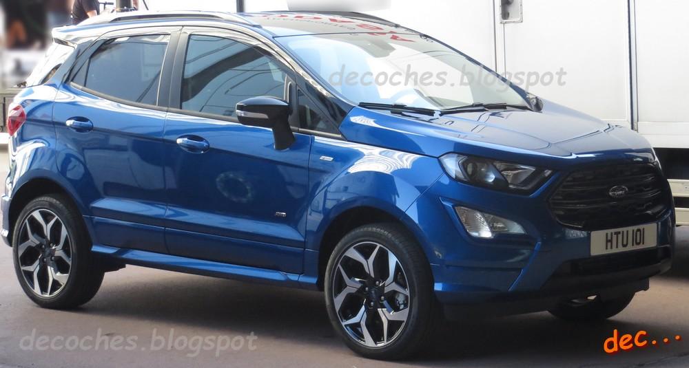 Ford EcoSport ST-Line spy photos (1)
