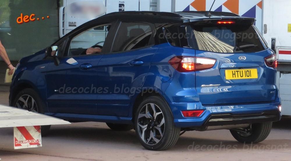 Ford EcoSport ST-Line spy photos (3)