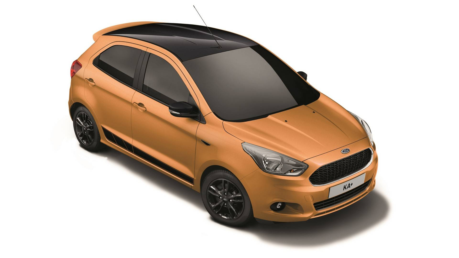 New Ford KA+ Colour Edition (Sparkling Gold)