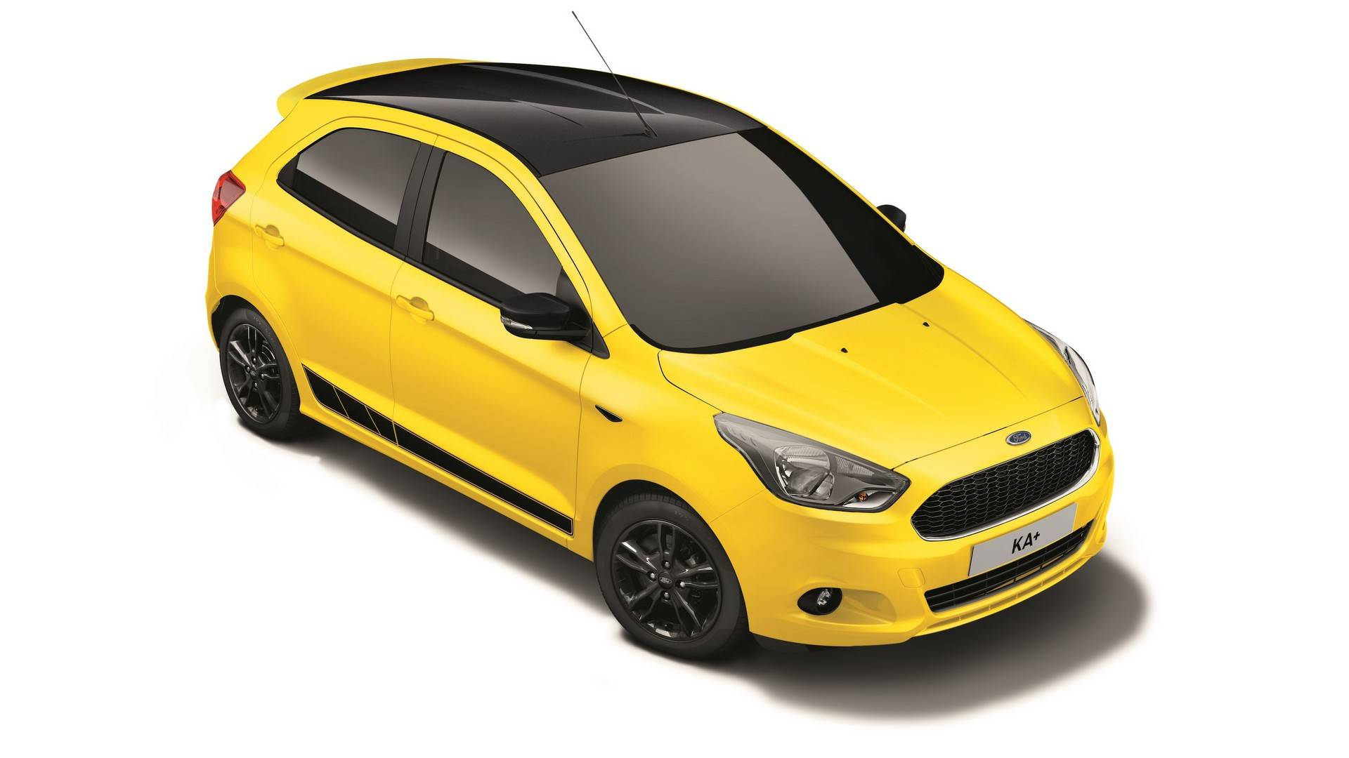 New Ford KA+ Colour Edition  (Bright Yellow)