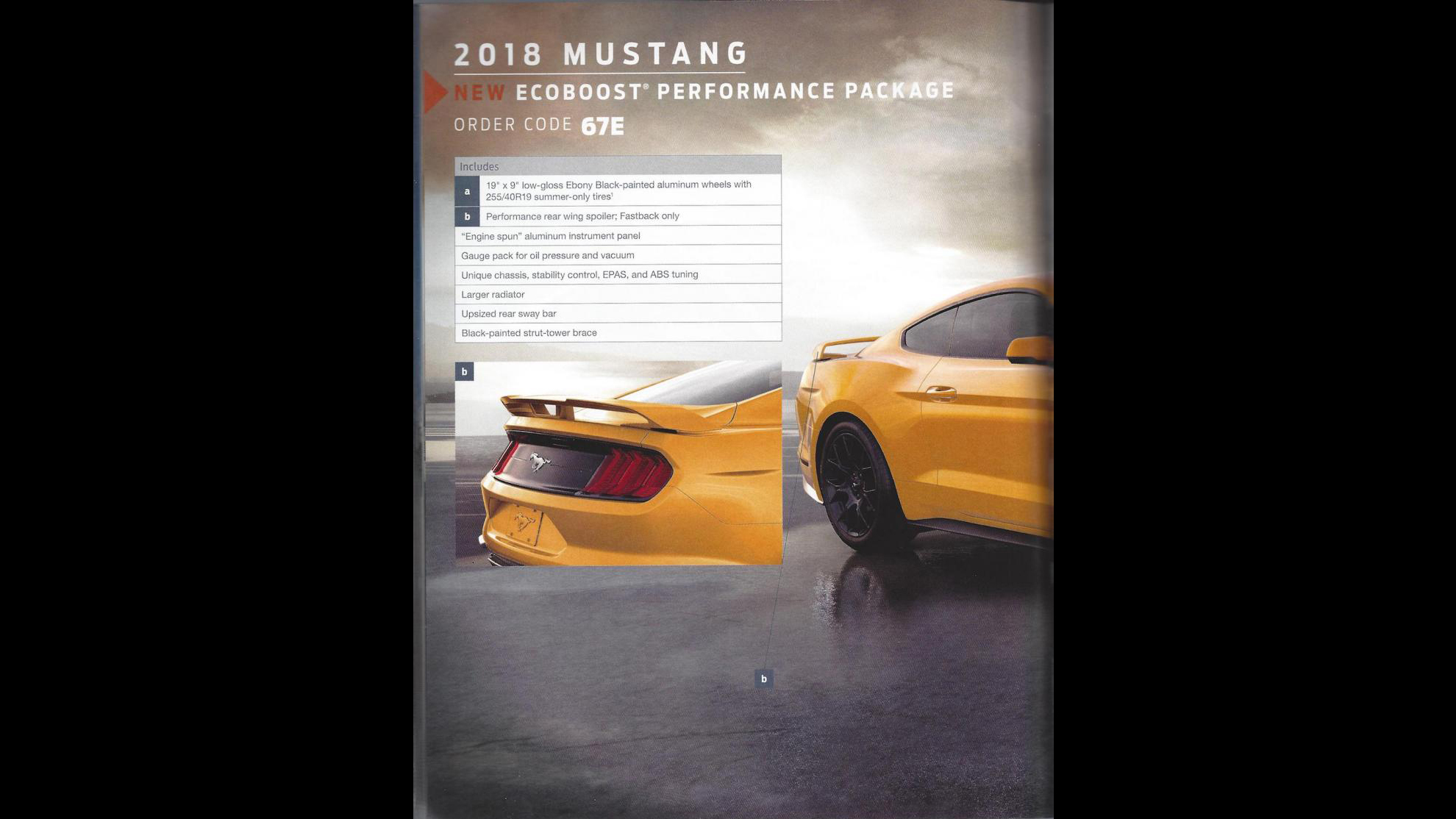 Ford Mustang 2018 Order Guide (1)