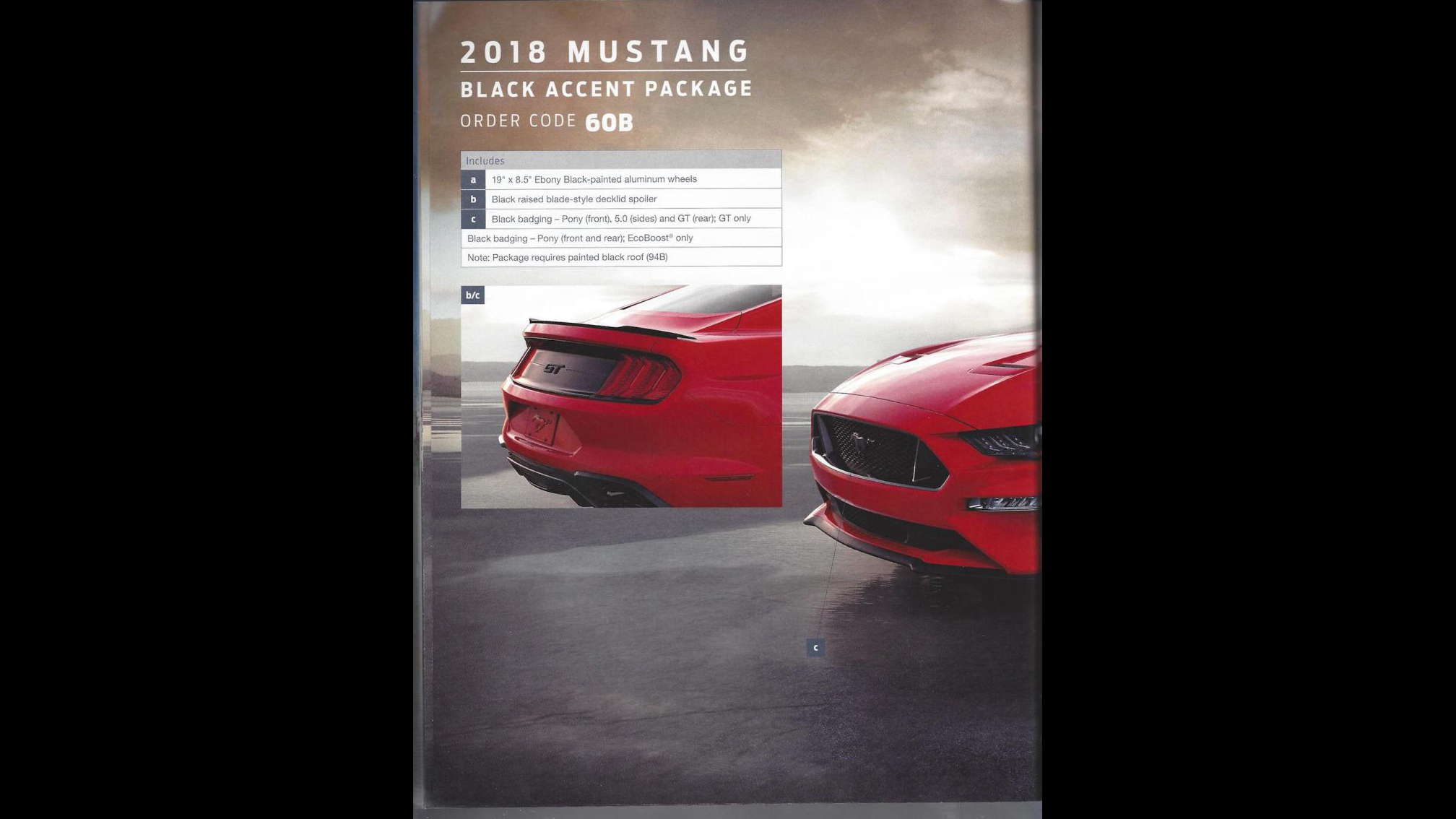 Ford Mustang 2018 Order Guide (10)