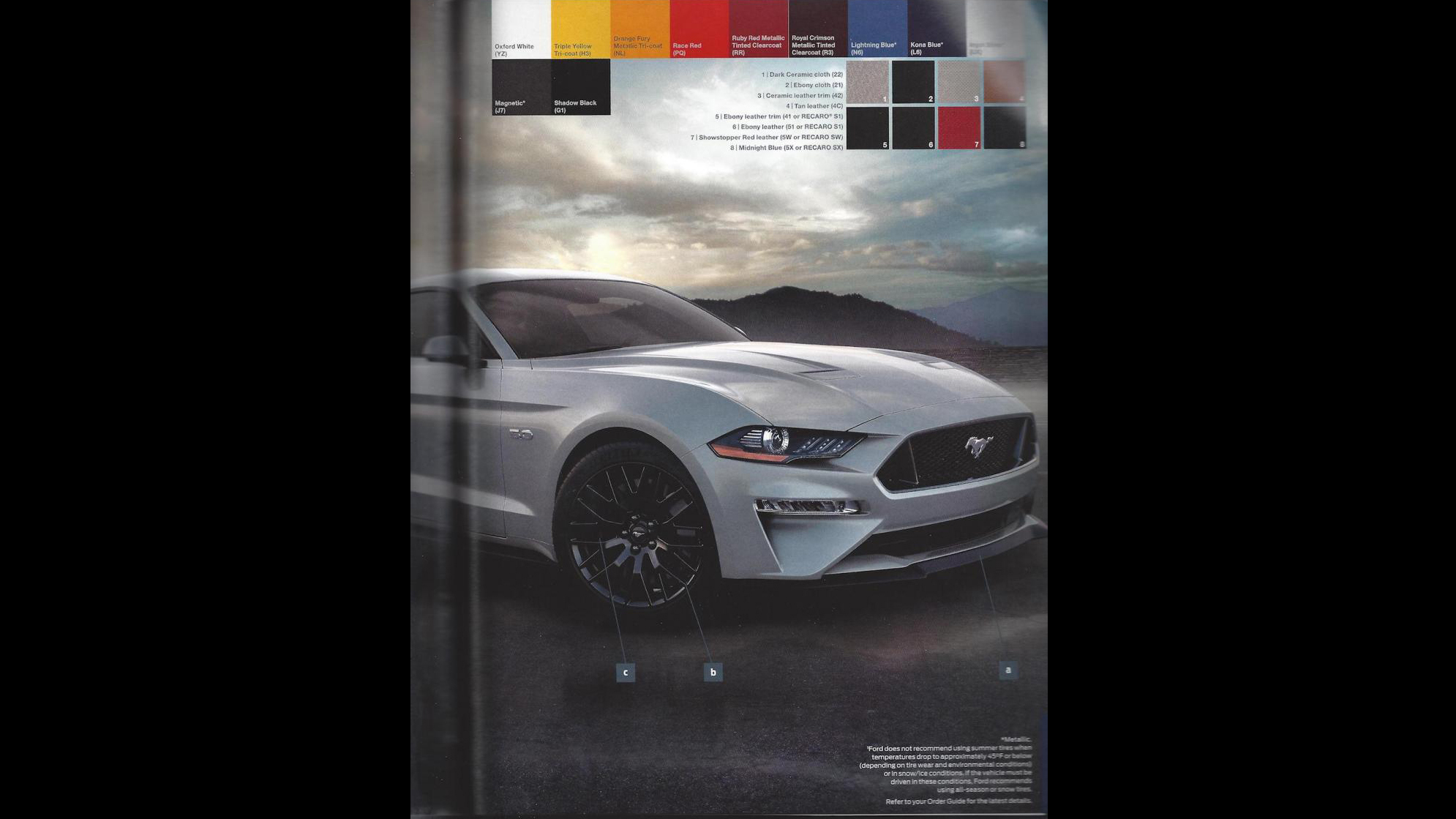 Ford Mustang 2018 Order Guide (11)