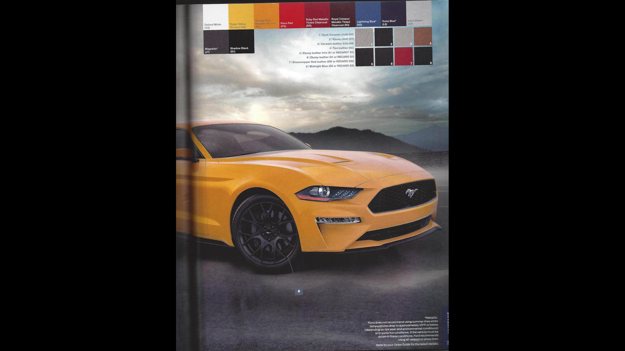 Ford Mustang 2018 Order Guide (3)
