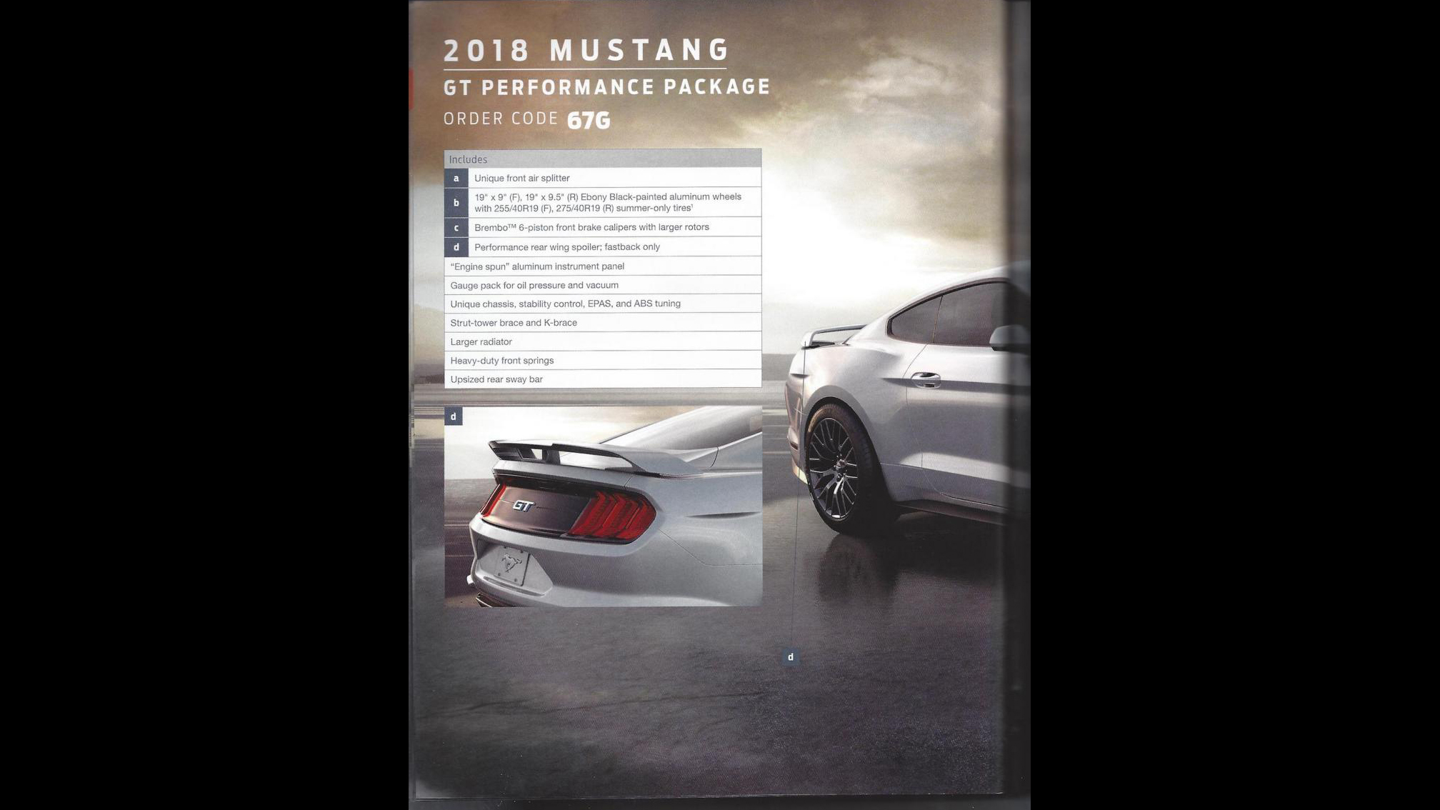 Ford Mustang 2018 Order Guide (4)