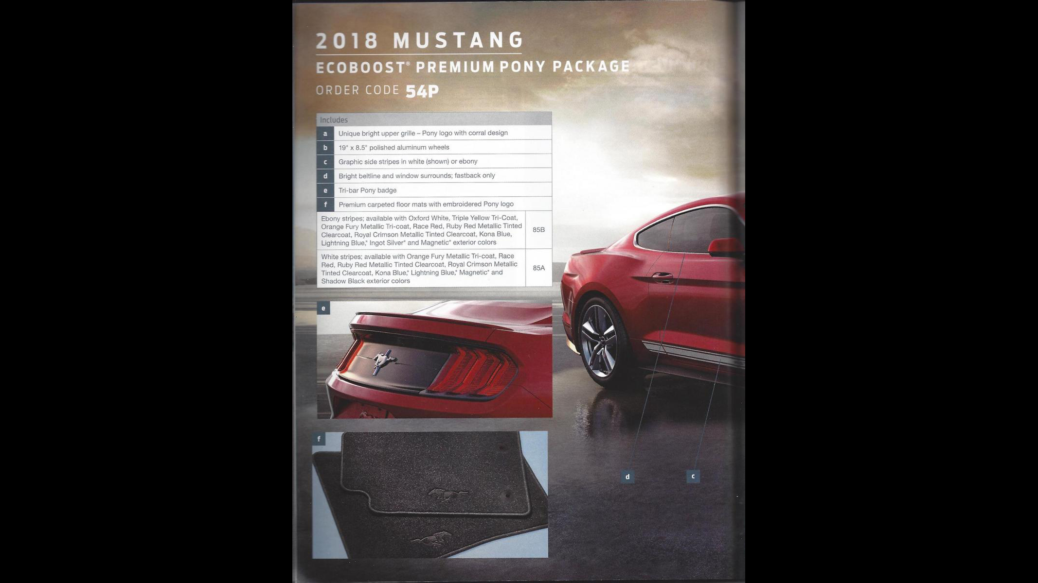 Ford Mustang 2018 Order Guide (6)