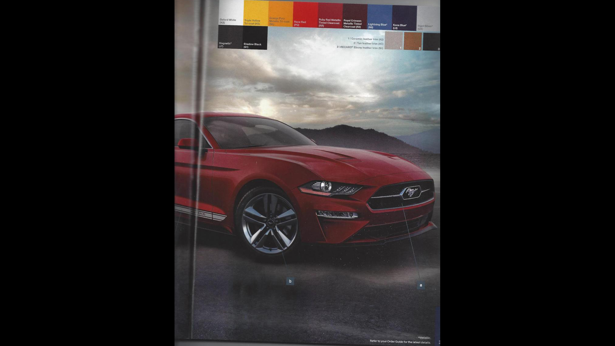 Ford Mustang 2018 Order Guide (7)