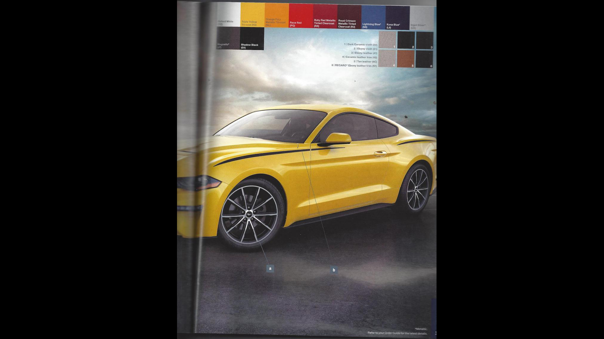 Ford Mustang 2018 Order Guide (9)
