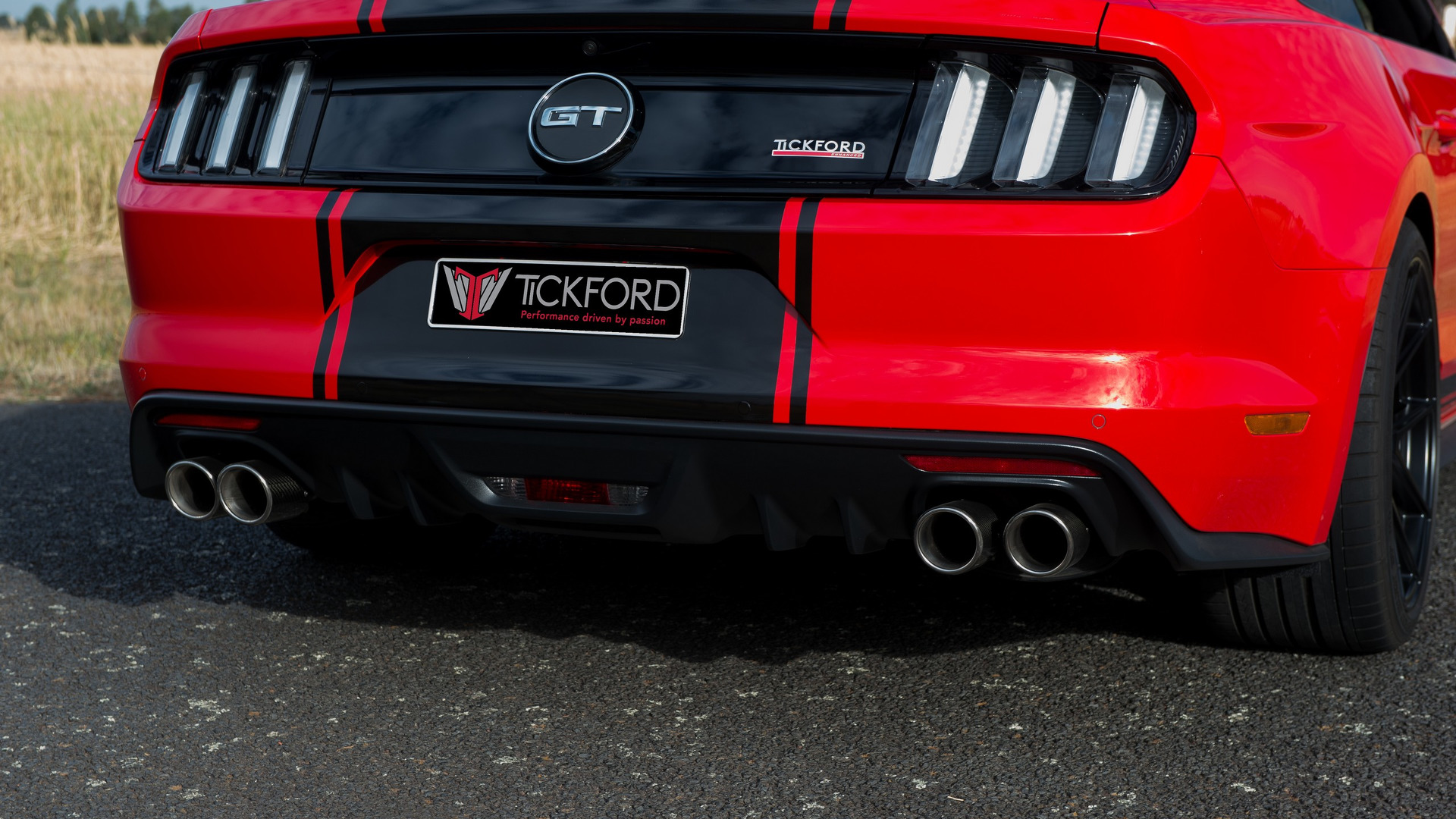 Tickford Ford Mustangs