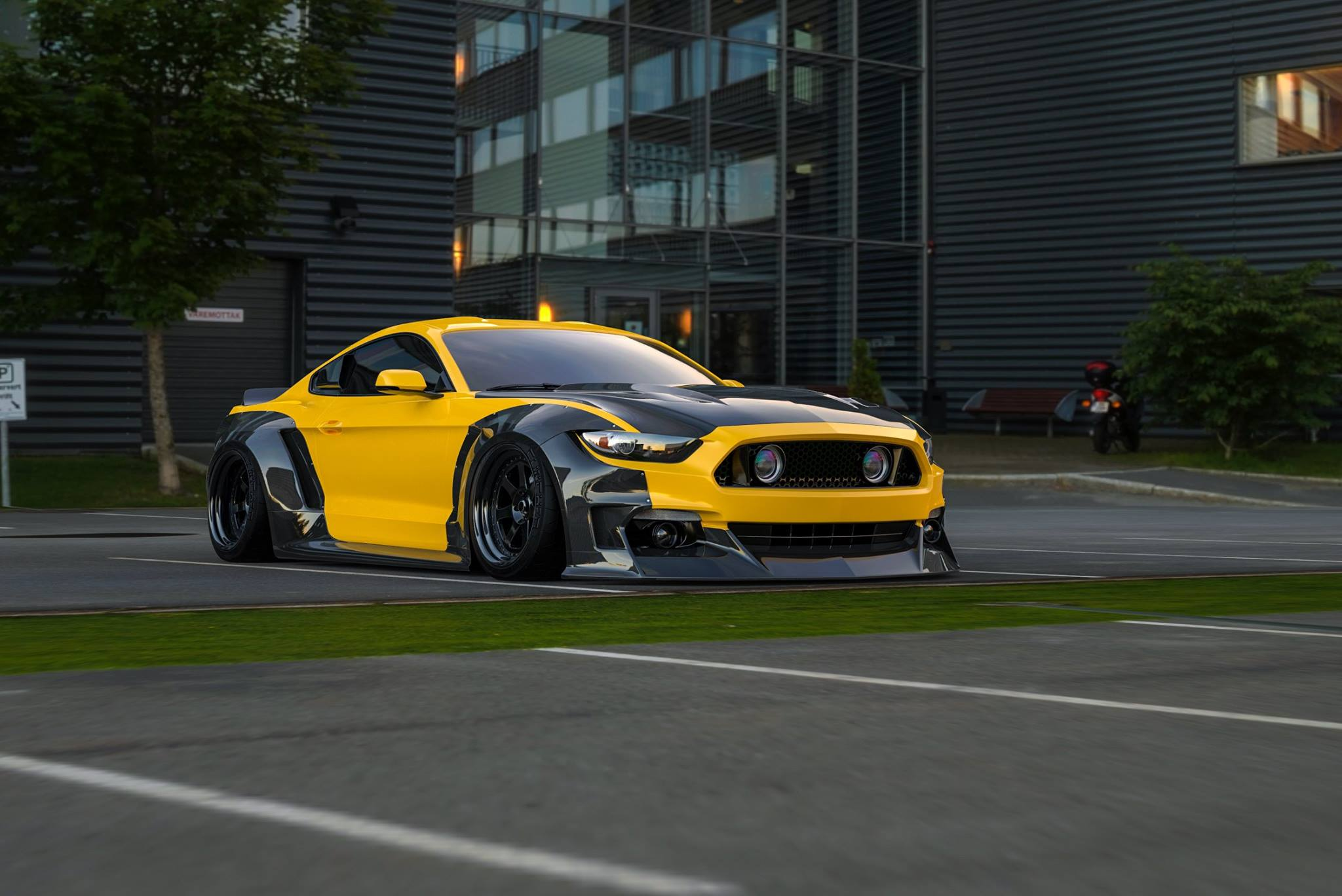 Ford Mustang widebody by Clinched (4)