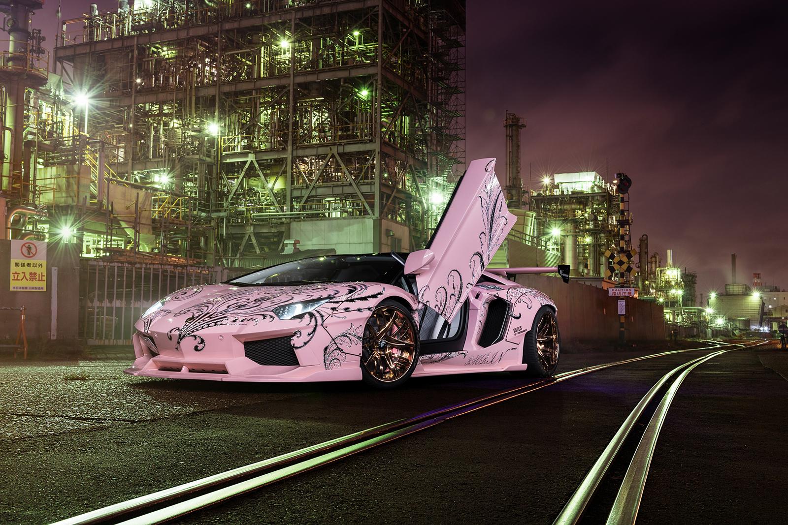 Forgiato_pink_Lamborghini_Aventador_1