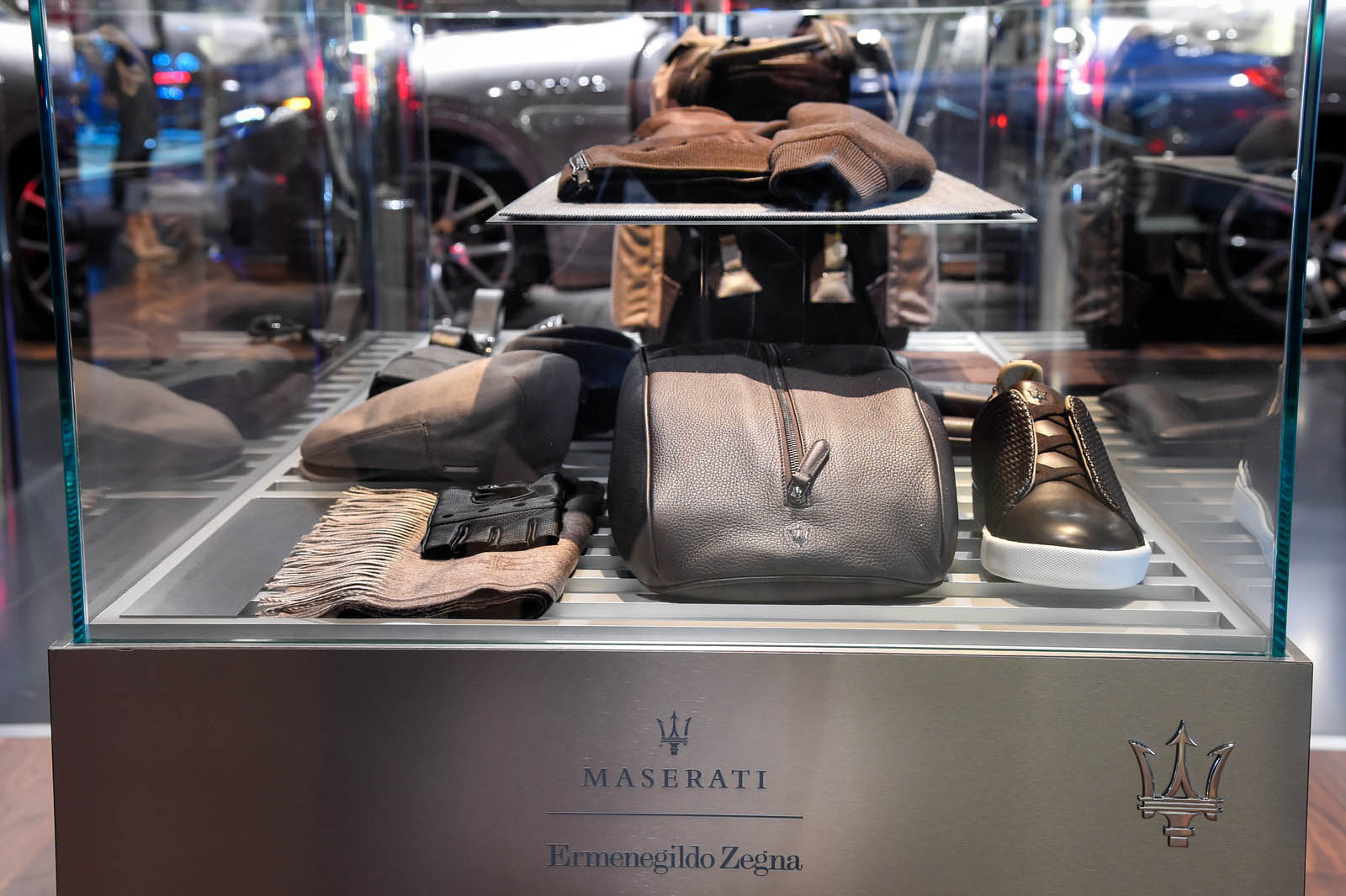 Frankfurt Motor Show 2017 - Maserati Capsule Collection by Ermenegildo Zegna copy
