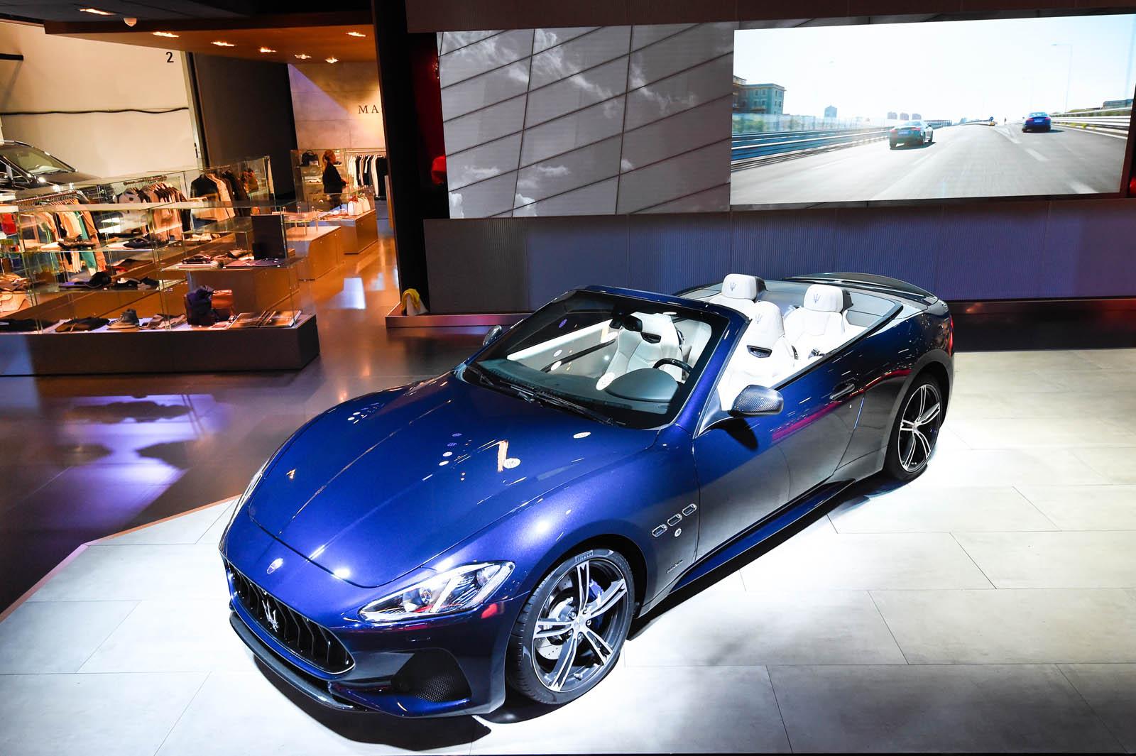 Frankfurt Motor Show 2017 - Maserati GranCabrio Sport copy
