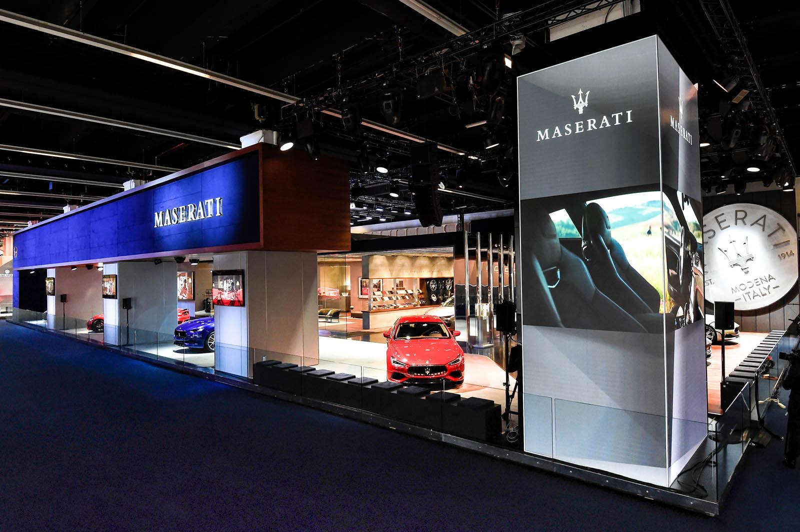 Frankfurt Motor Show 2017 - Maserati Stand (2) copy