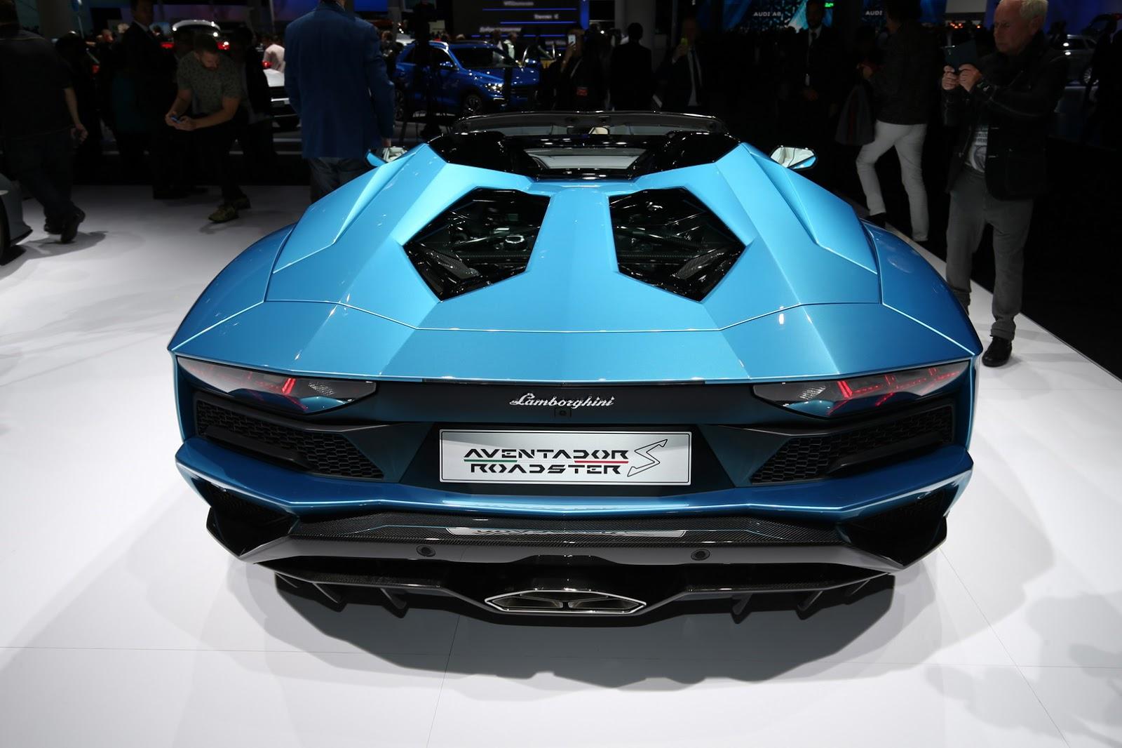 Lamborghini Aventador Roadster S facelift (20)