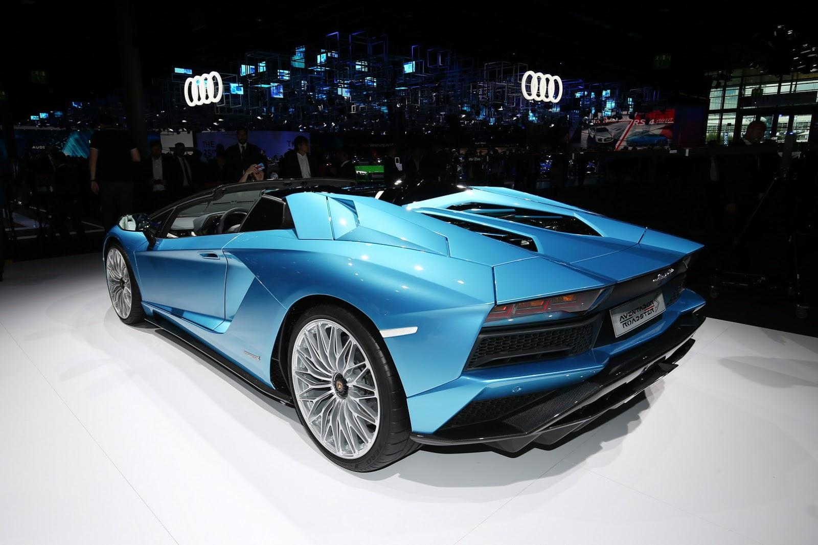 Lamborghini Aventador Roadster S facelift (21)