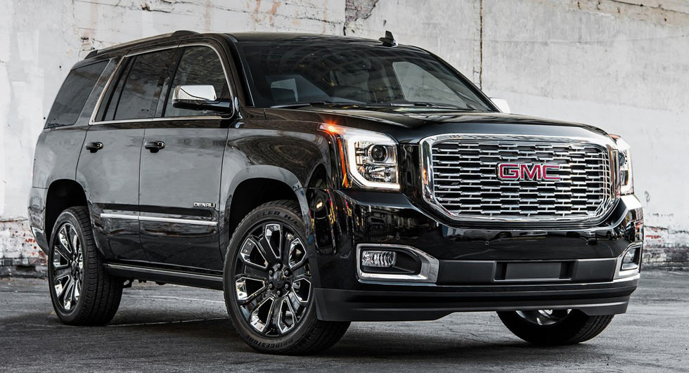 GMC Yukon Denali Ultimate Black Edition 2018 (1)