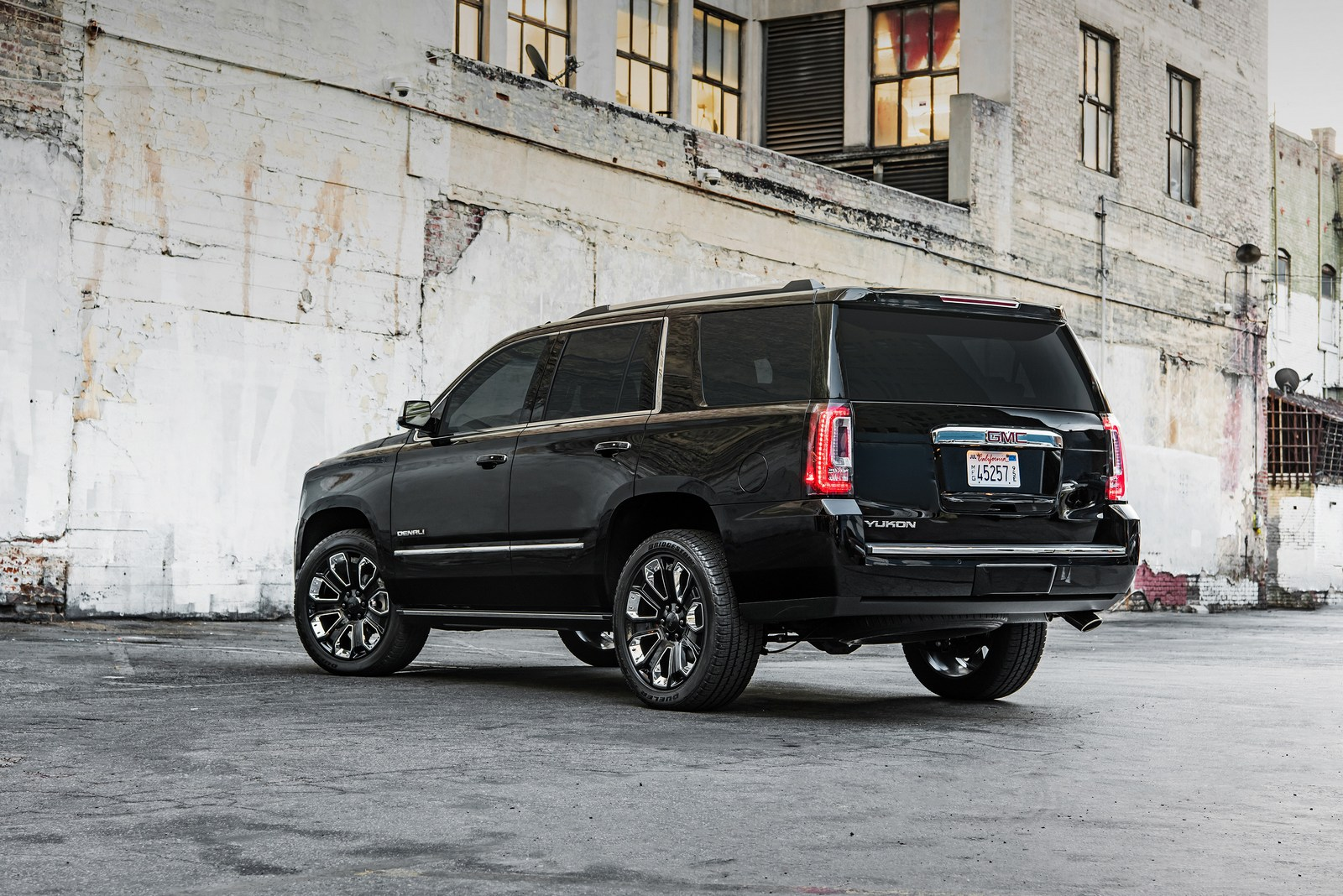 2018 GMC Yukon Denali Ultimate Black Edition.