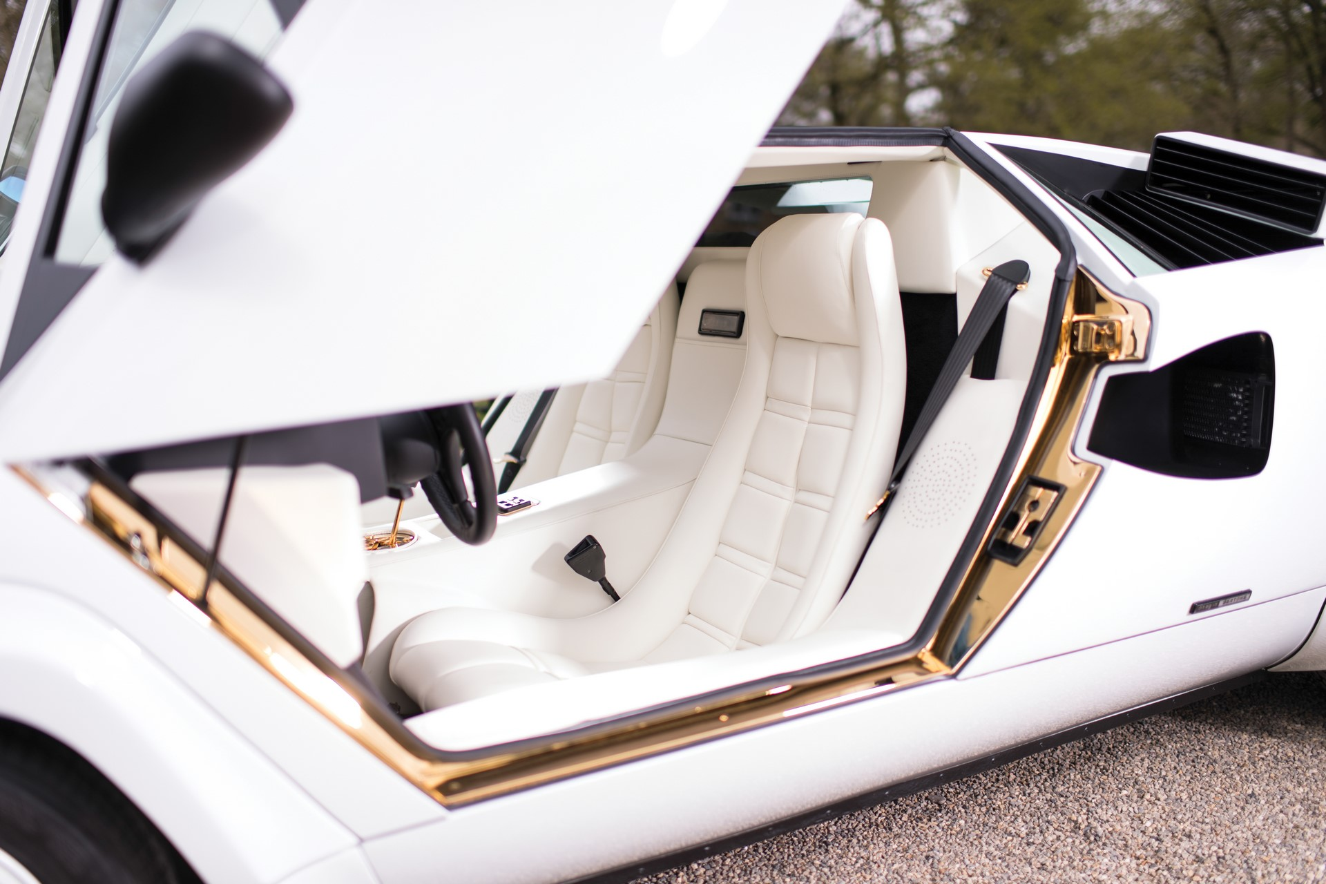 Gold Lamborghini Countach 5000 QV (19)