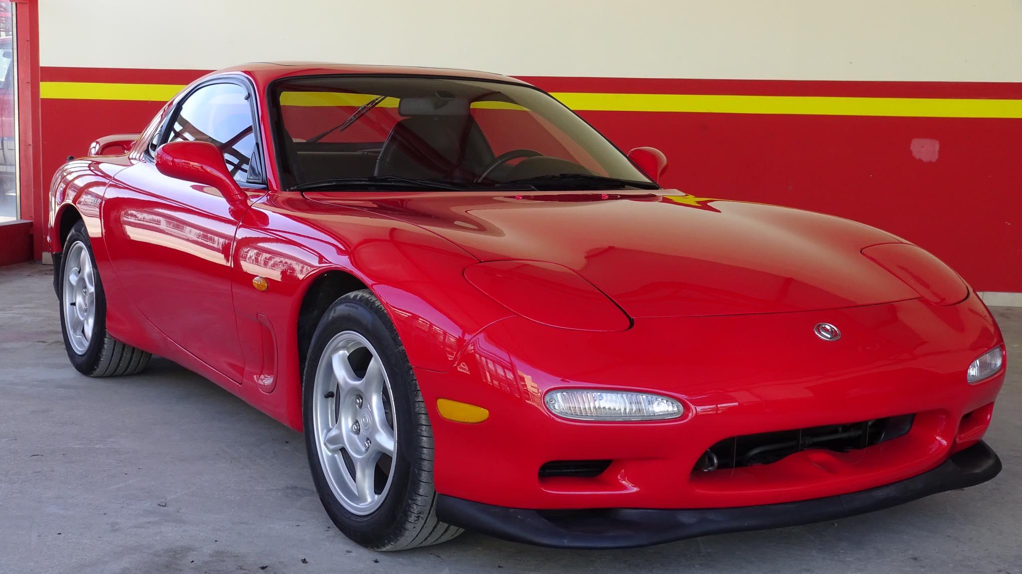 Greek Mazda RX-7 for sale (1)