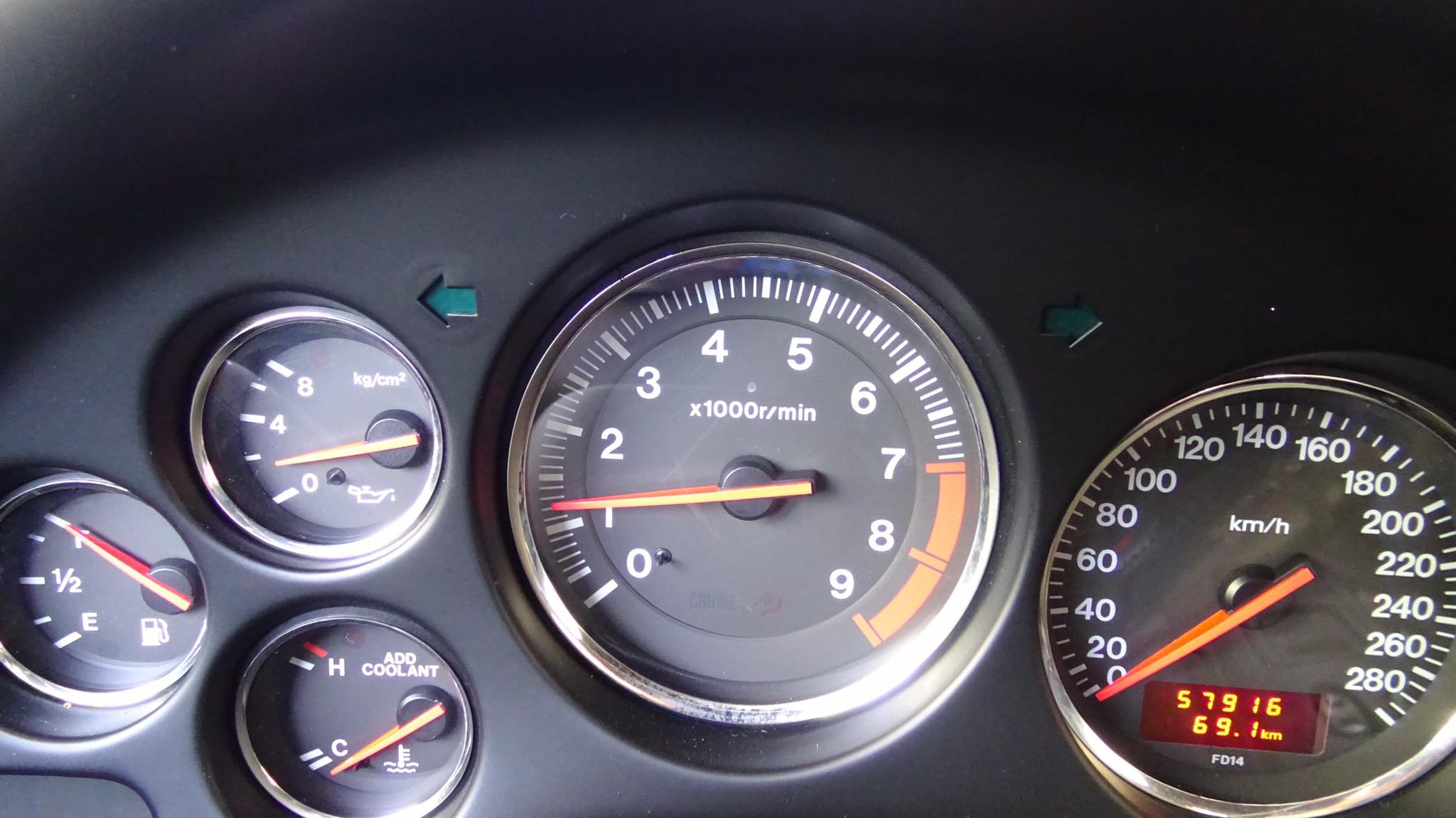 Greek Mazda RX-7 for sale (6)