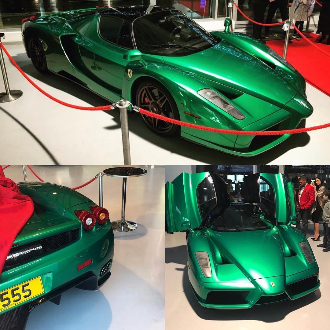 Green Ferrari Enzo (1)