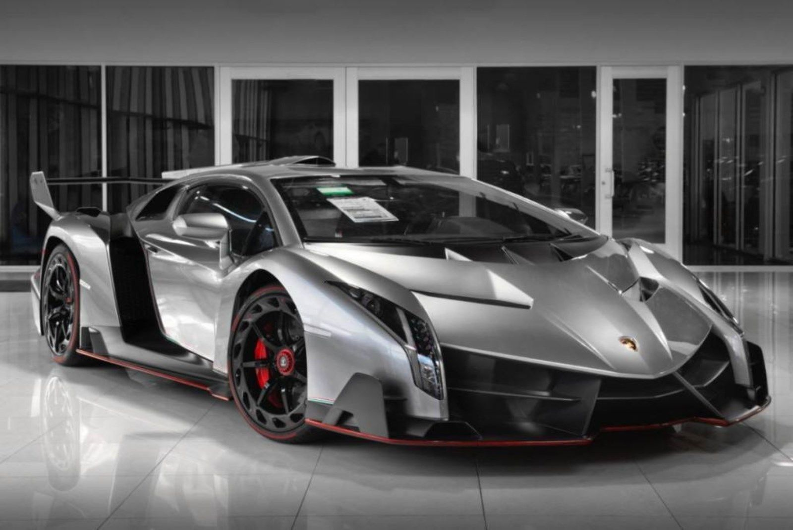 Grey Lamborghini Veneno for sale (2)