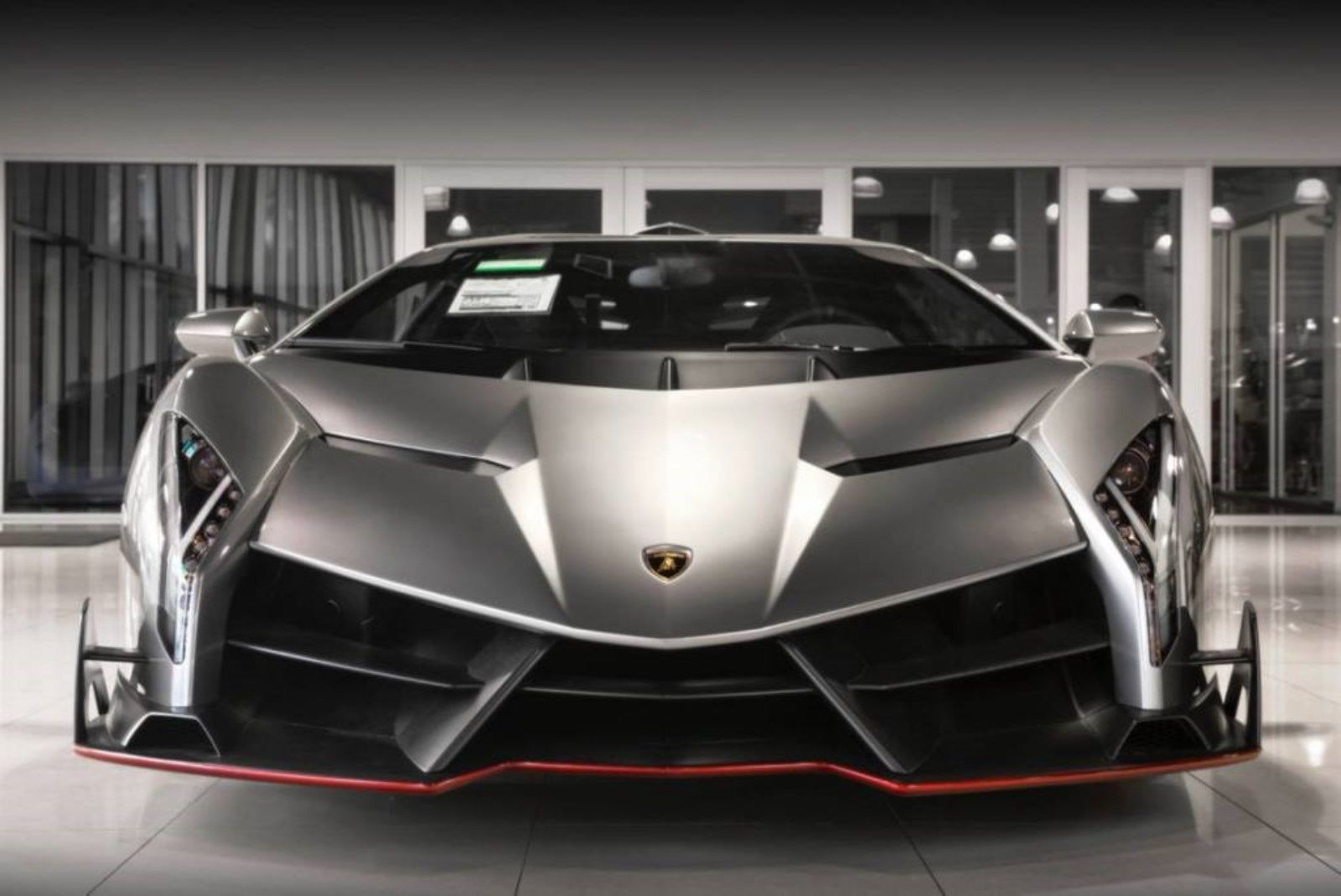 Grey Lamborghini Veneno for sale (3)