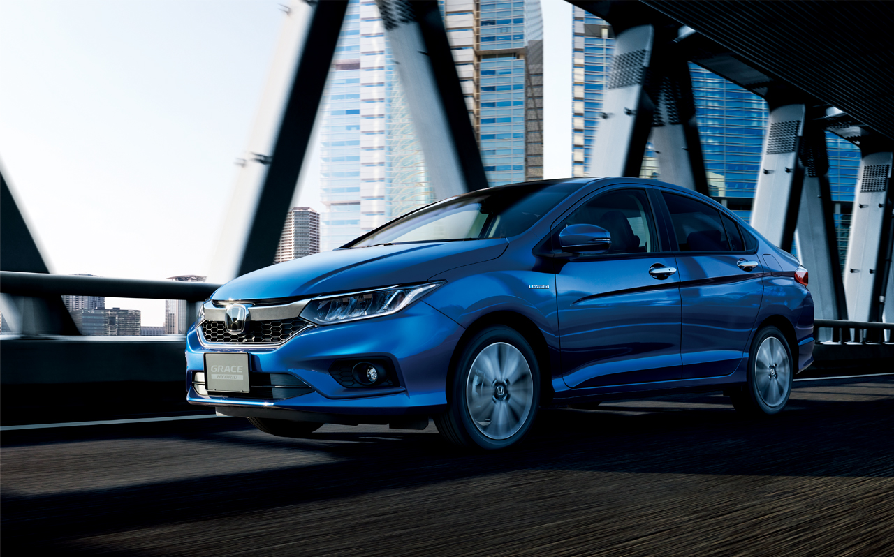 Honda Grace facelift (1)