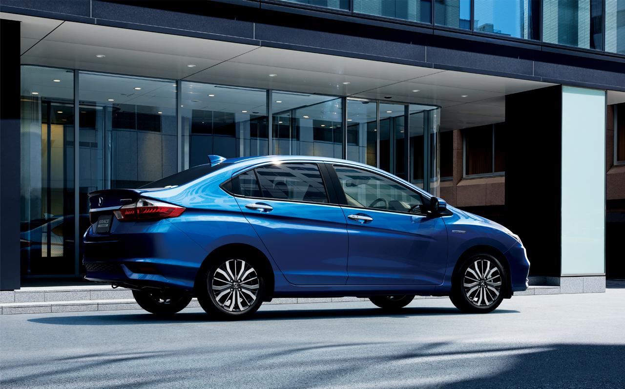 Honda Grace facelift (2)