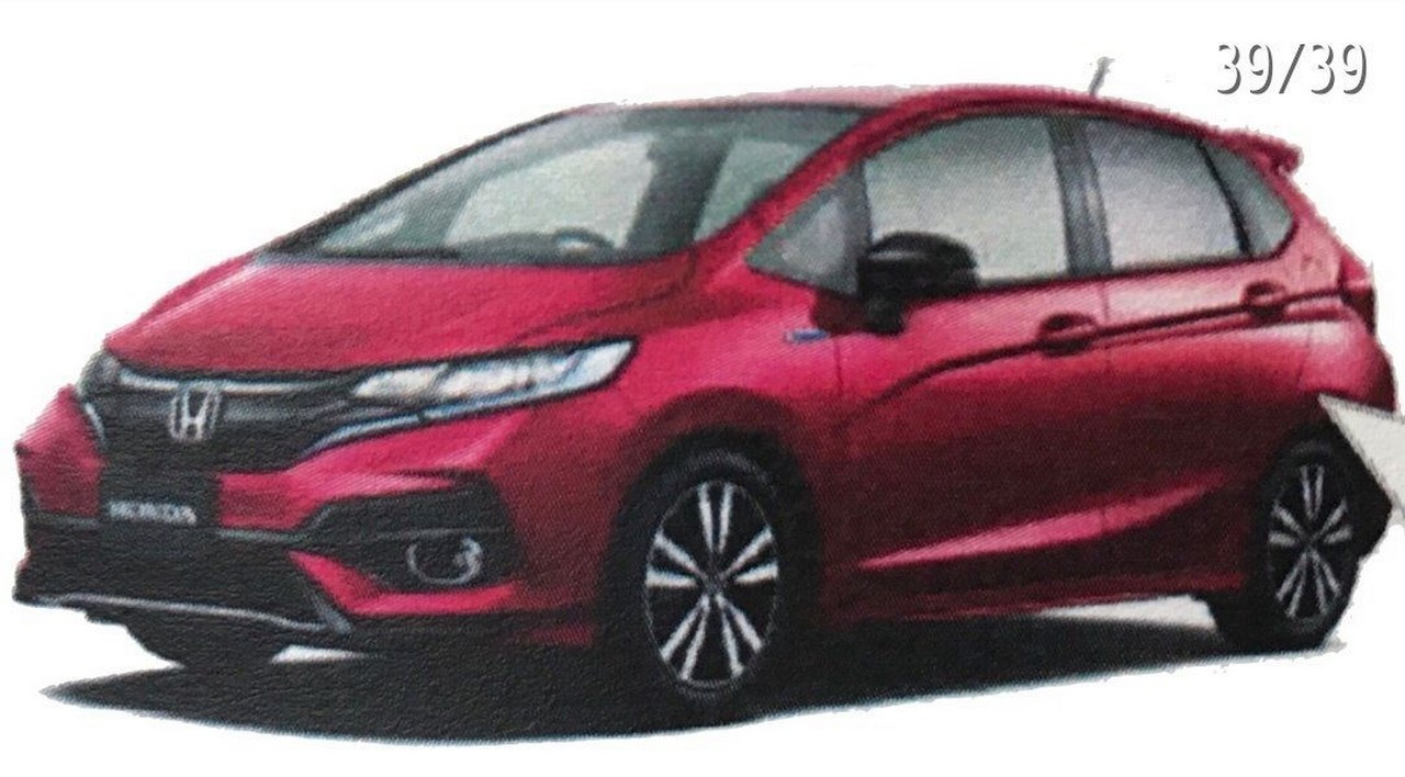 Honda Jazz 2018 leaked (1)