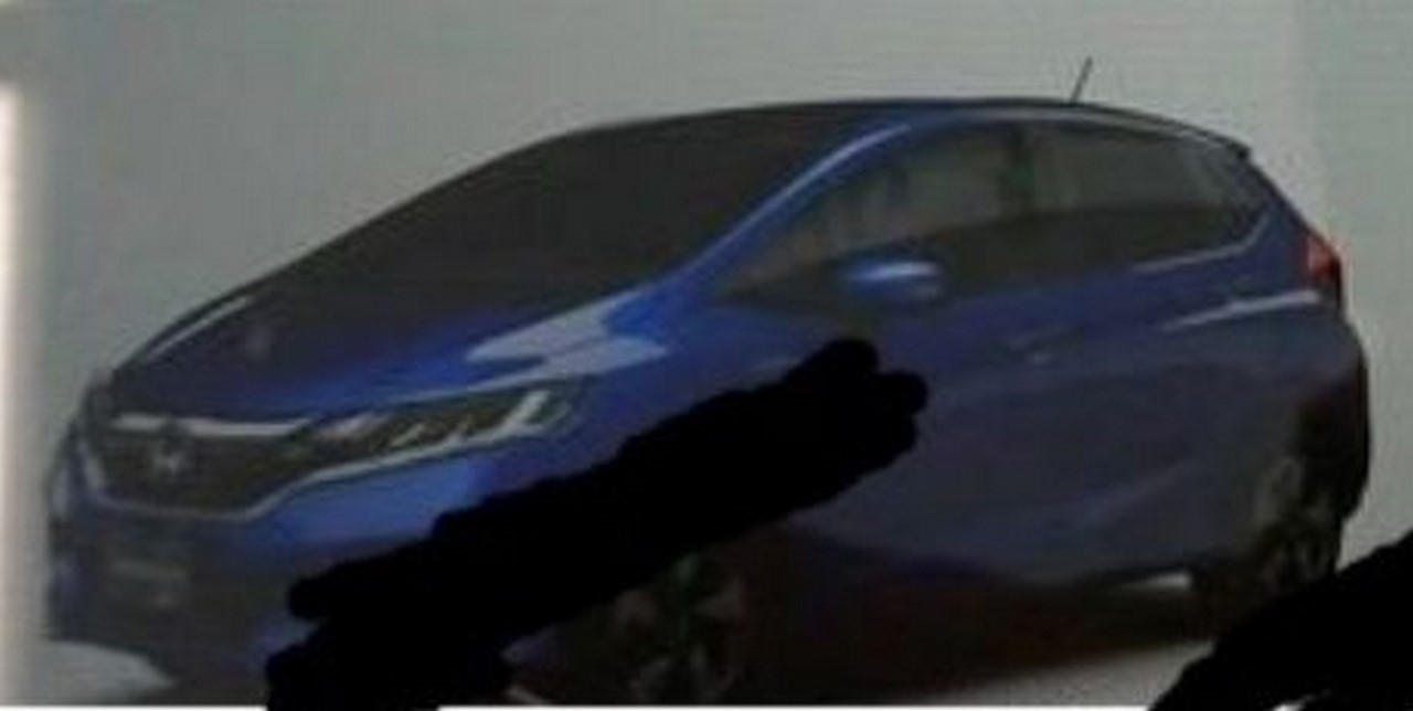 Honda Jazz 2018 leaked (4)