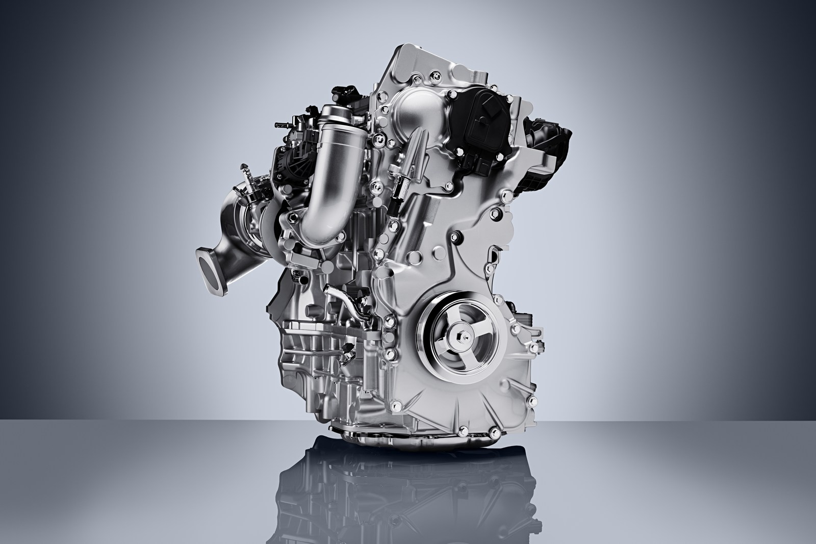 The INFINITI VC-Turbo is the world's first production-ready variable compression ratio engine. Shown for the first time at the 2016 Mondial de l'Automobile in Paris, the four-cylinder VC-Turbo promises to be one of the most advanced internal combustion engines ever created.