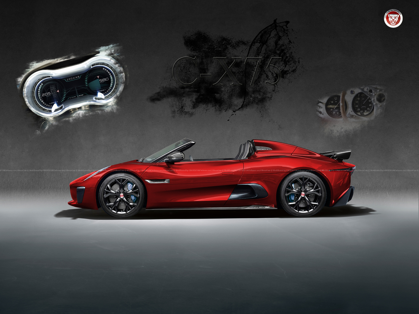 jaguar-c-x75-roadster-rendering