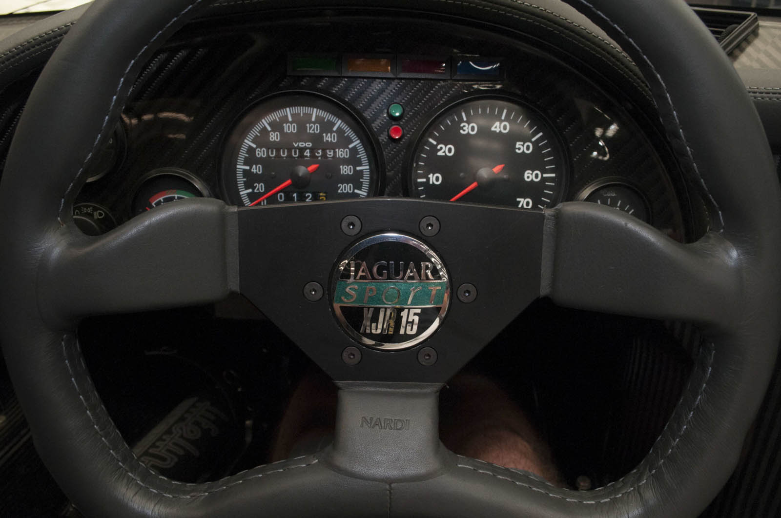 Jaguar XJR-15 with 700 km for sale (15)