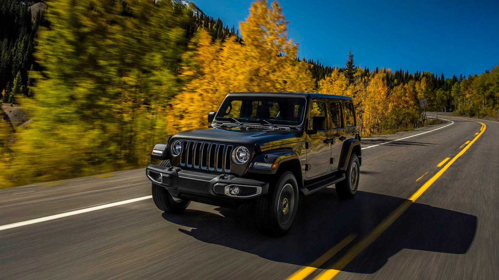 All-new 2018 Jeep® Wrangler Sahara
