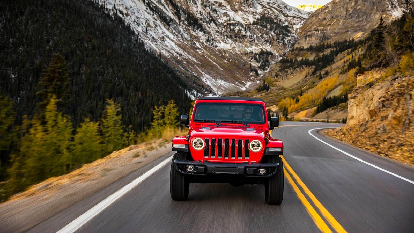 All-new 2018 Jeep® Wrangler Rubicon