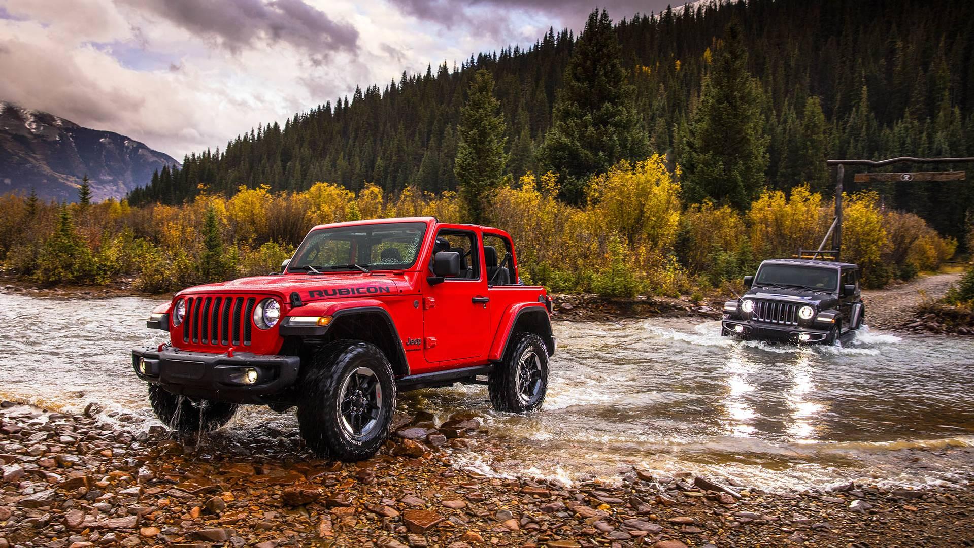 All-new 2018 Jeep® Wrangler Rubicon and All-new 2018 Jeep® Wrangler Sahara