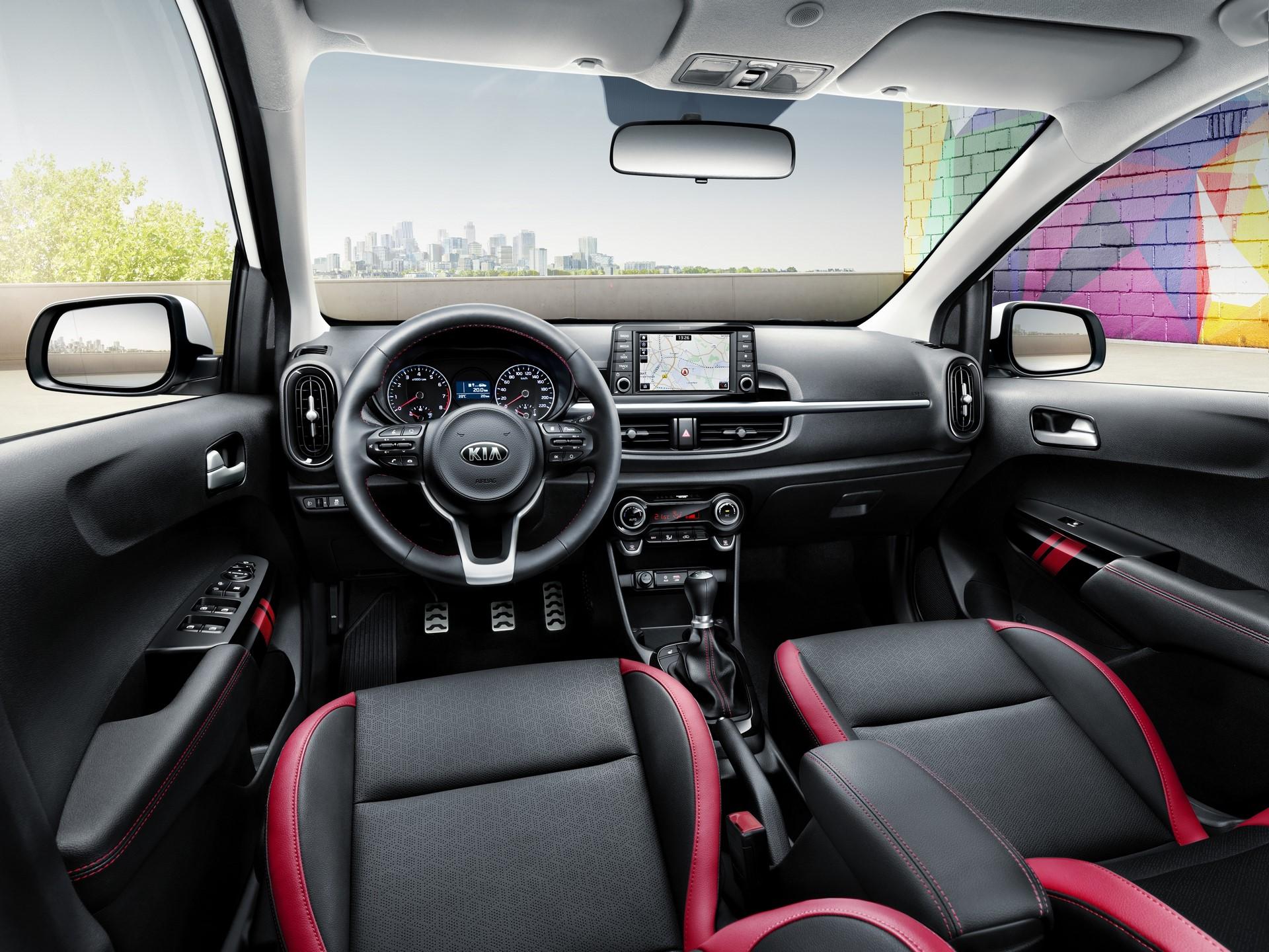 3rd generation Kia Picanto_GT Line (interior)