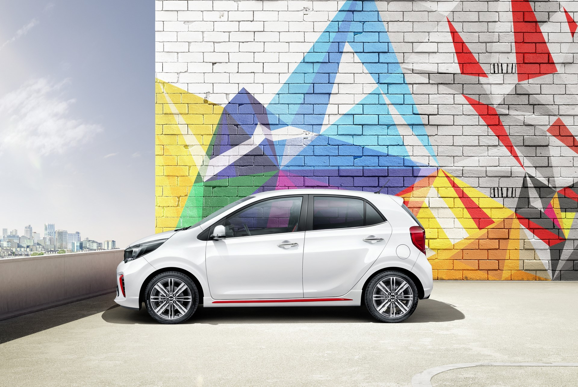 3rd generation Kia Picanto_GT Line (side)