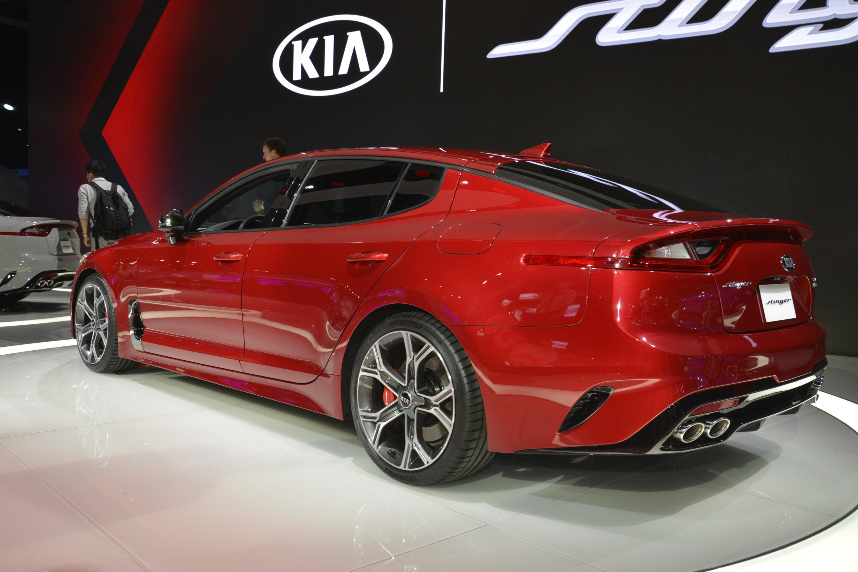 Kia Stinger GT in Detroit (17)