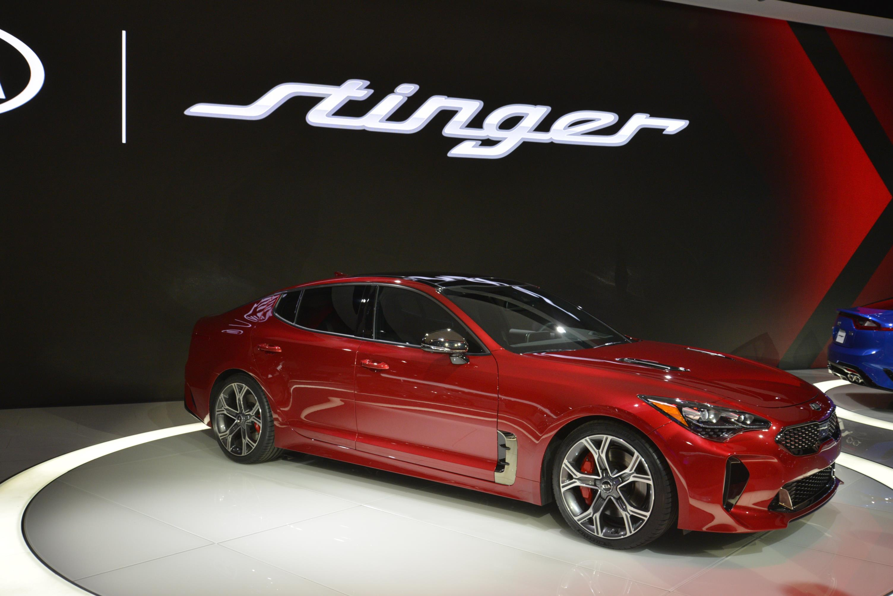 Kia Stinger GT in Detroit (24)