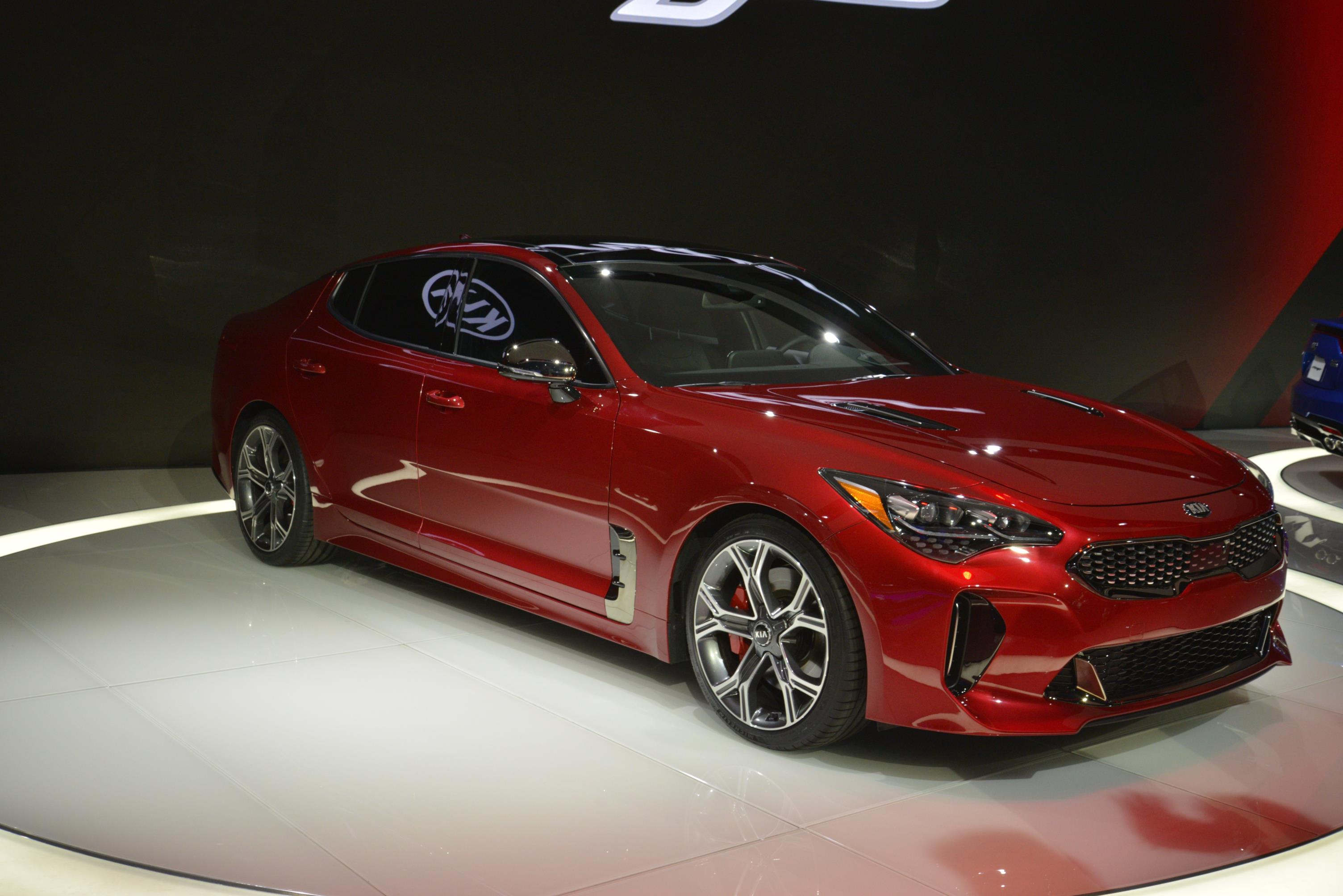 Kia Stinger GT in Detroit (25)