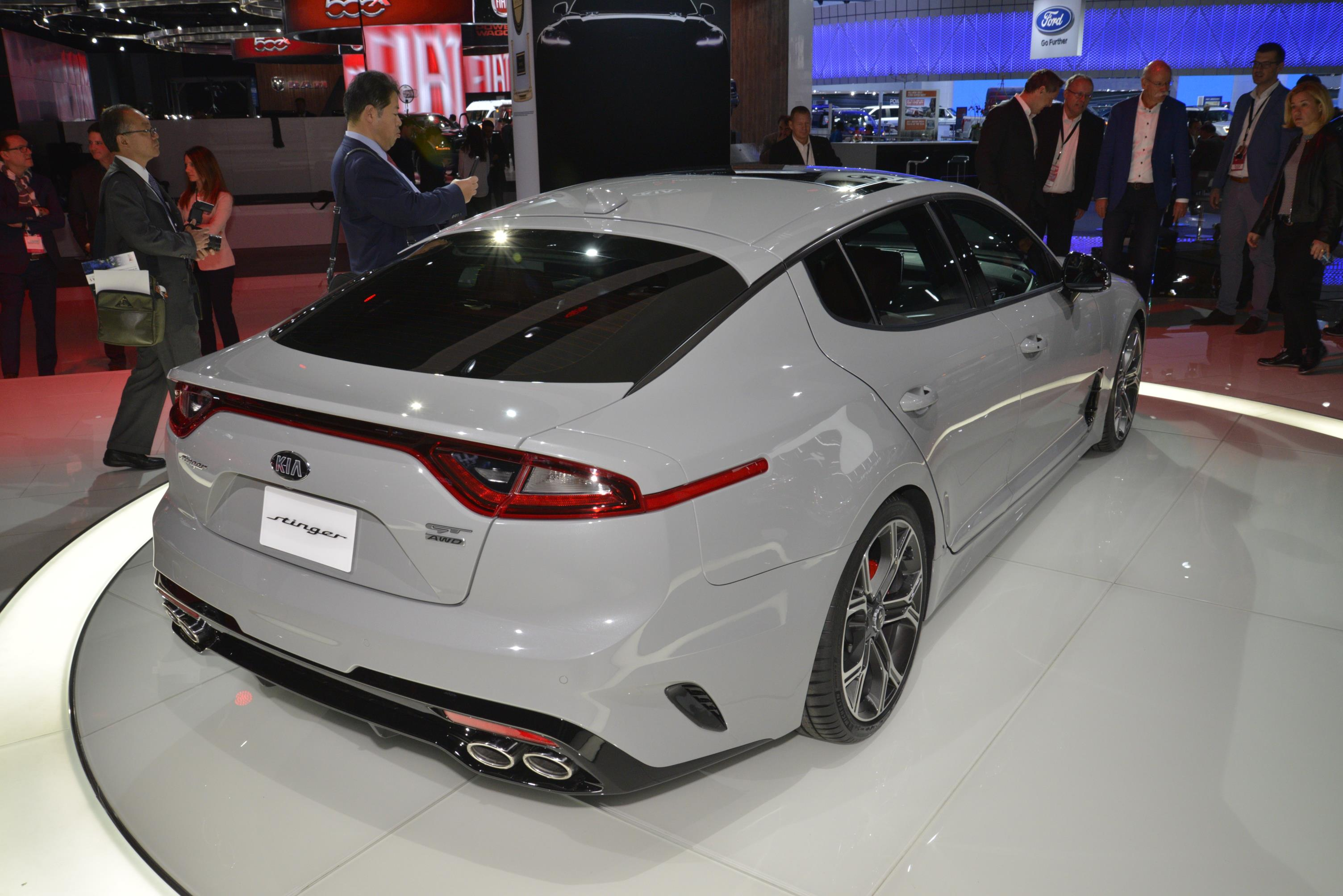 Kia Stinger GT in Detroit (5)