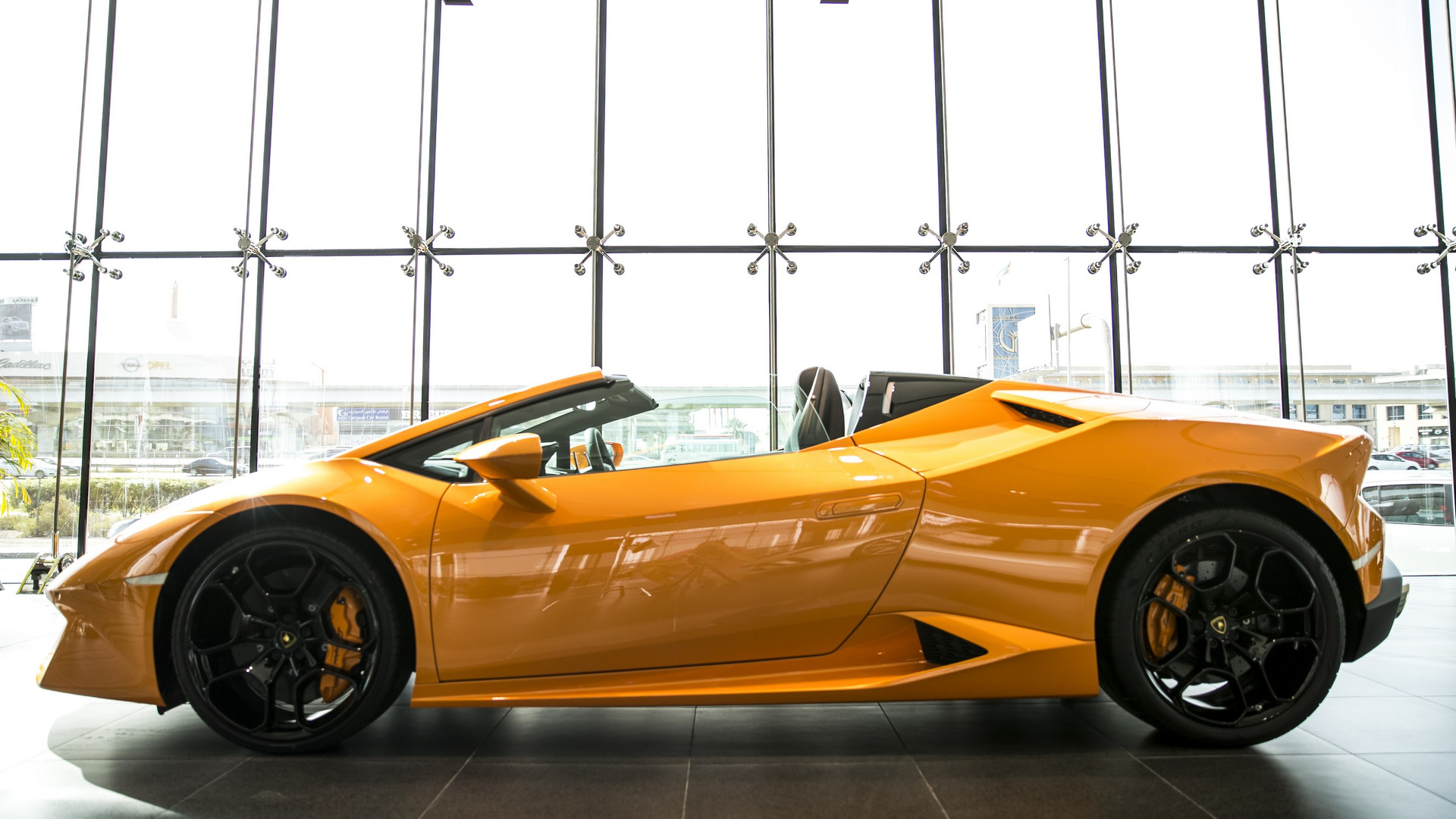 Lamborghini Showroom Dubai