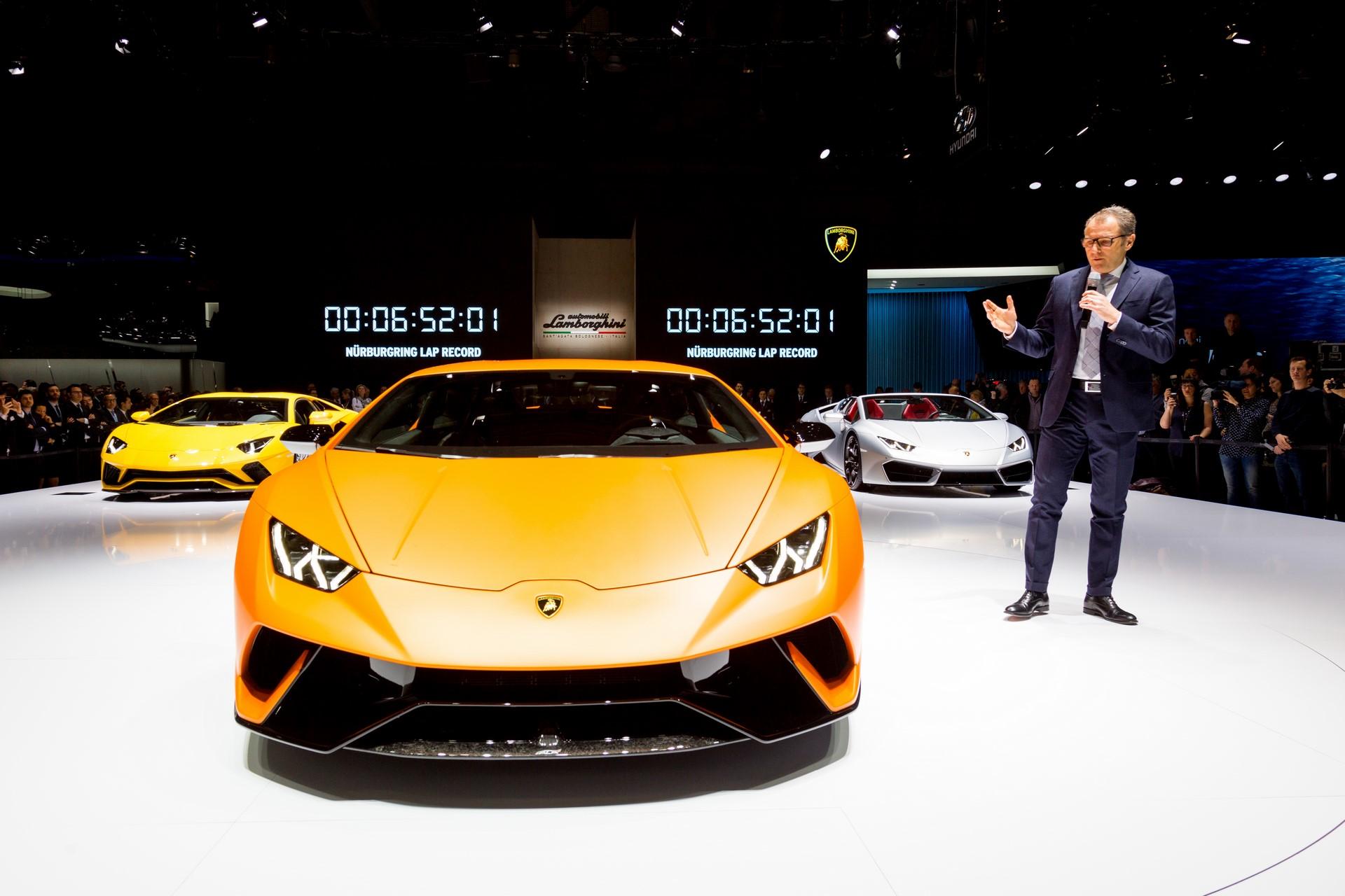 Stefano Domenicali Lamborghini Huracan Performante Geneva 2017 (2)