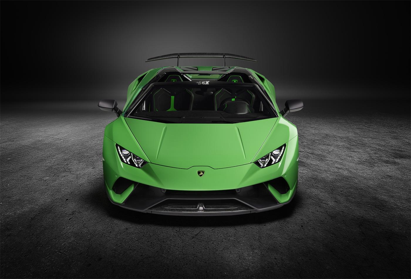 Lamborghini Huracan Performante Spyder Renderings (2)