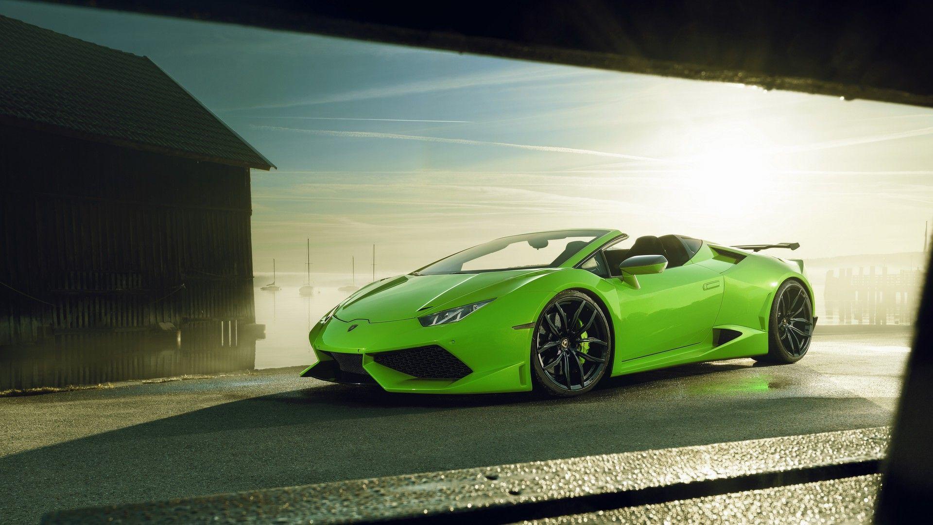 Lamborghini Huracan Spyder by Novitec (1)
