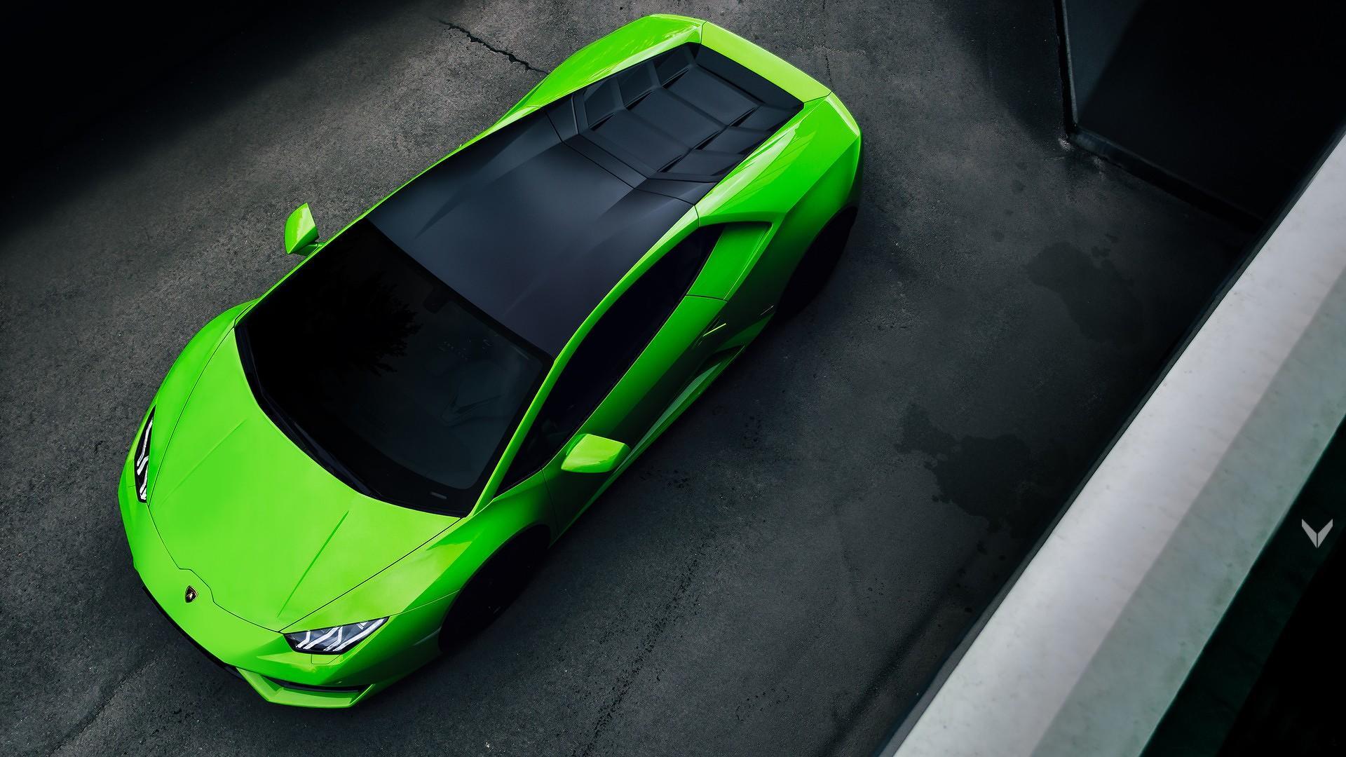 Lamborghini Huracan Verde Mantis Vilner (1)