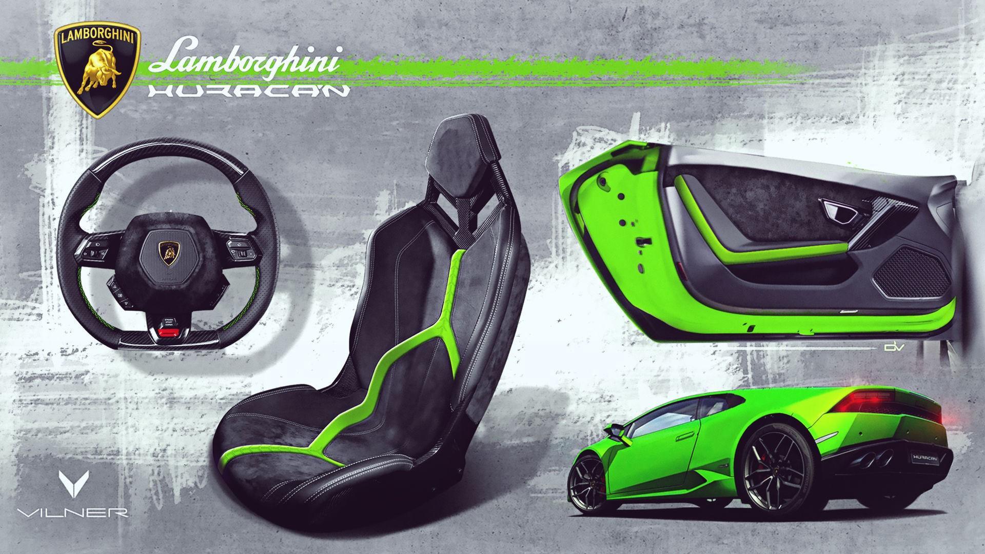 Lamborghini Huracan Verde Mantis Vilner (4)